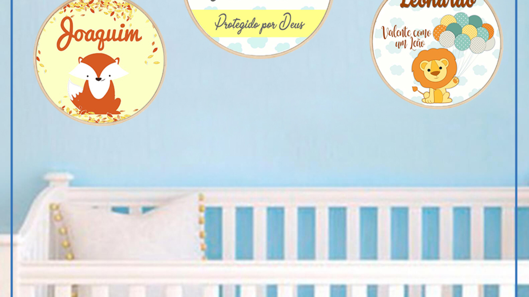 Para deixar o quarto do Bebê personalizado do seu jeito! ab157765ad4